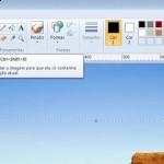 Como cortar uma imagem no Paint do seu Windows