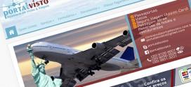 Portal do Visto no ar, seu visto ou passaporte fácil e rápido